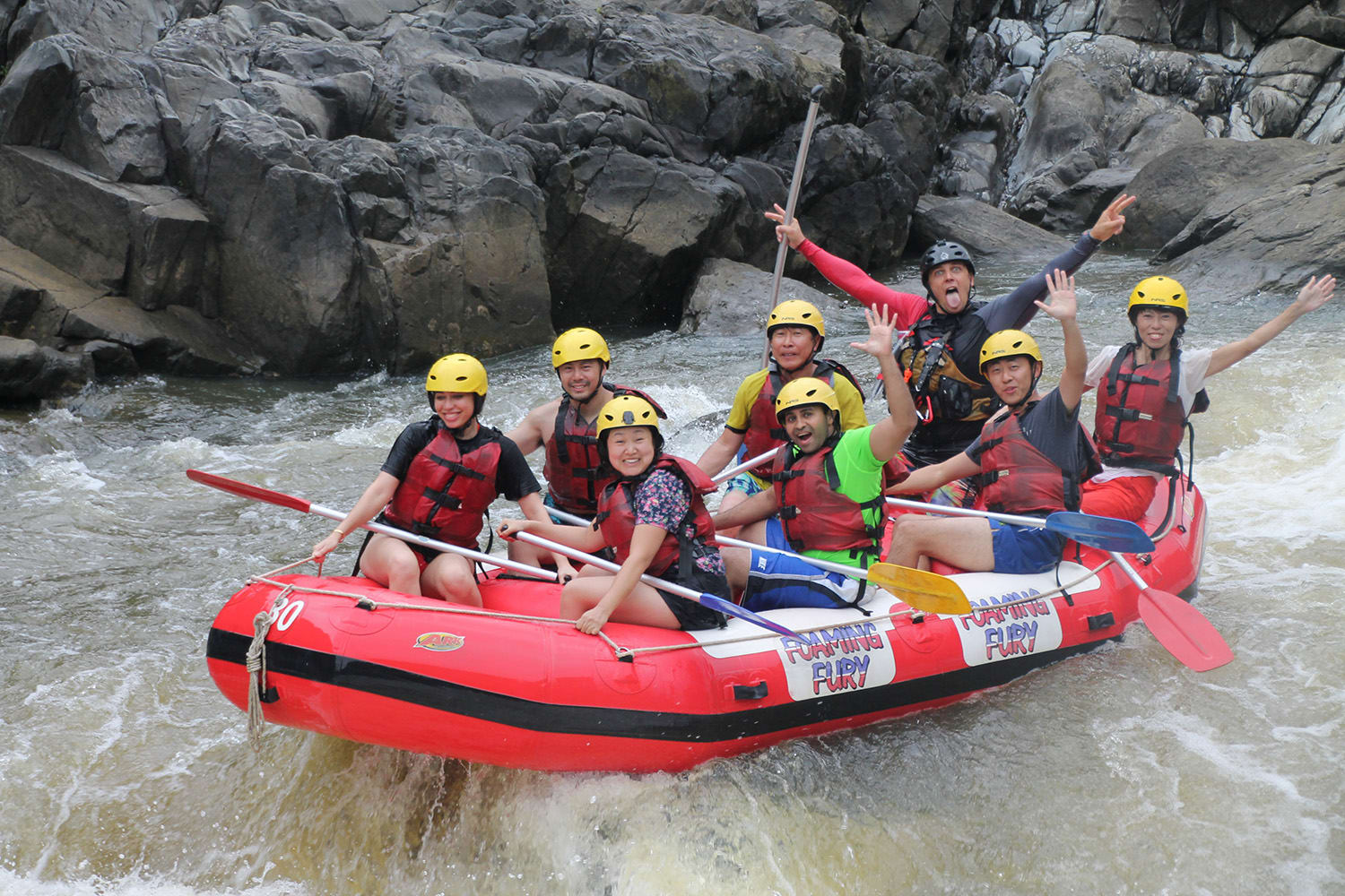 White Water Rafting at Barron Gorge, Half Day