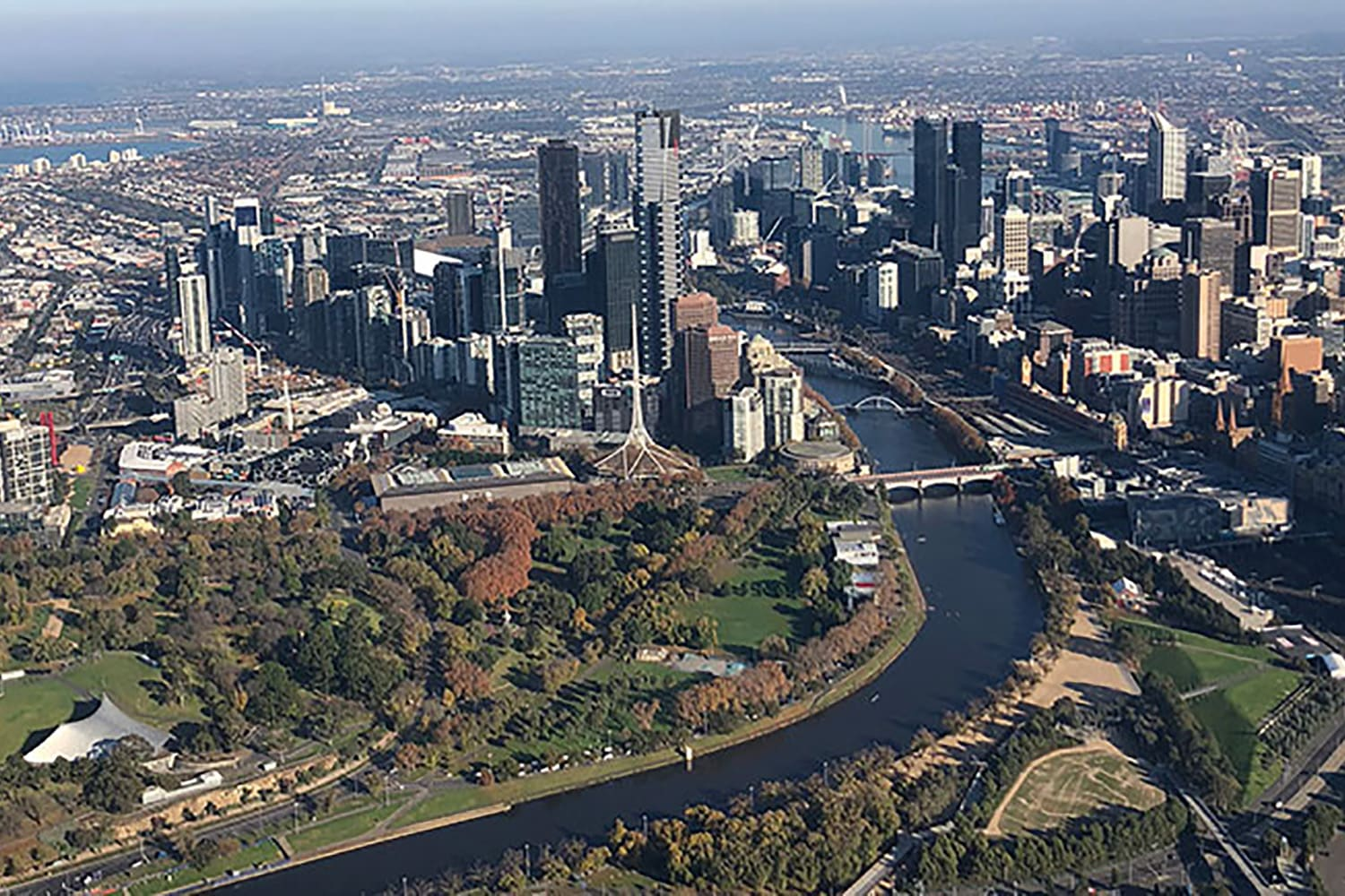 30 Minute Helicopter Flight Over Melbourne Front Seat Guarantee