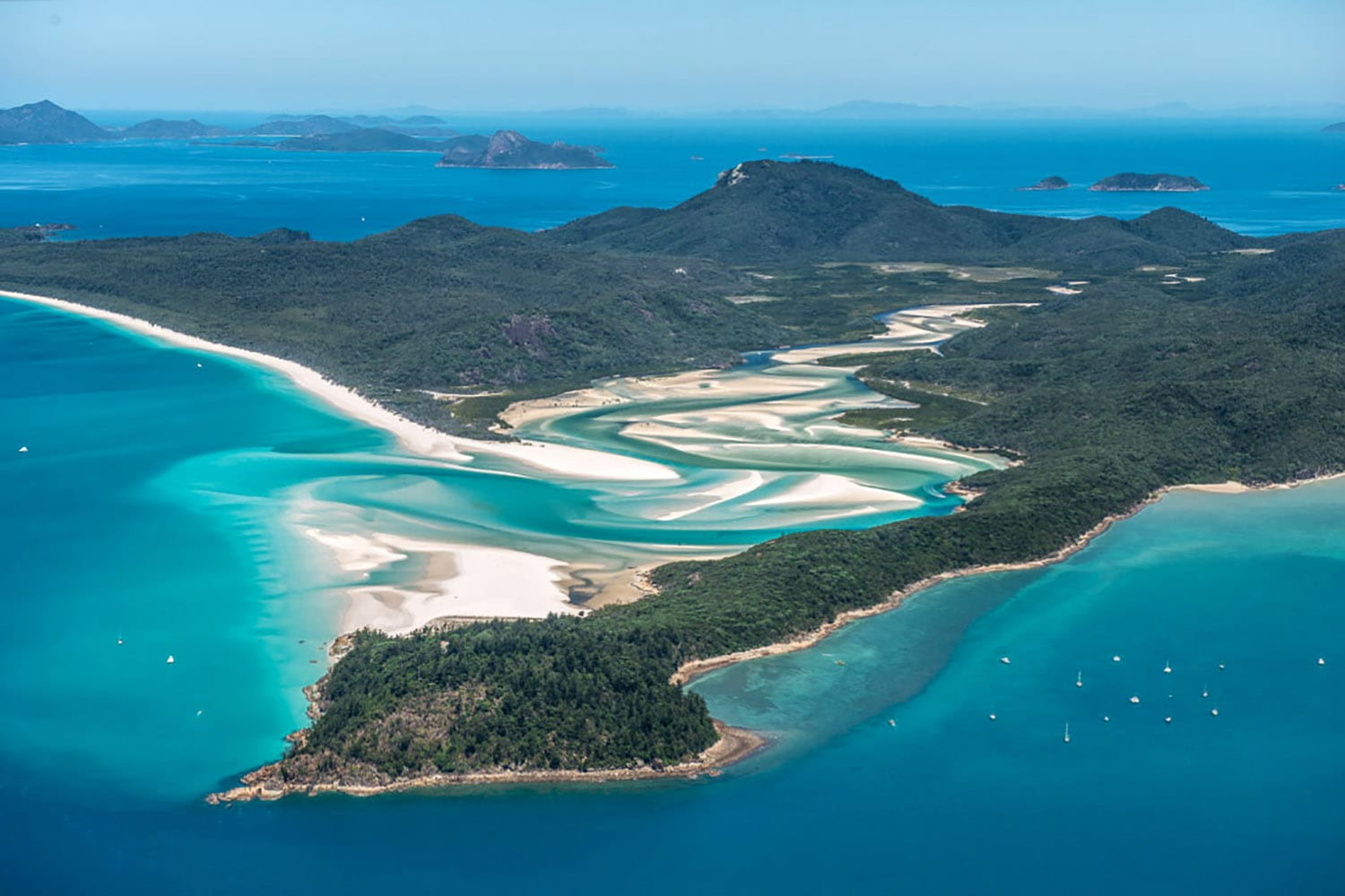 Scenic Flight Over Great Barrier Reef and Whitsundays, 1 Hour - Airlie Beach