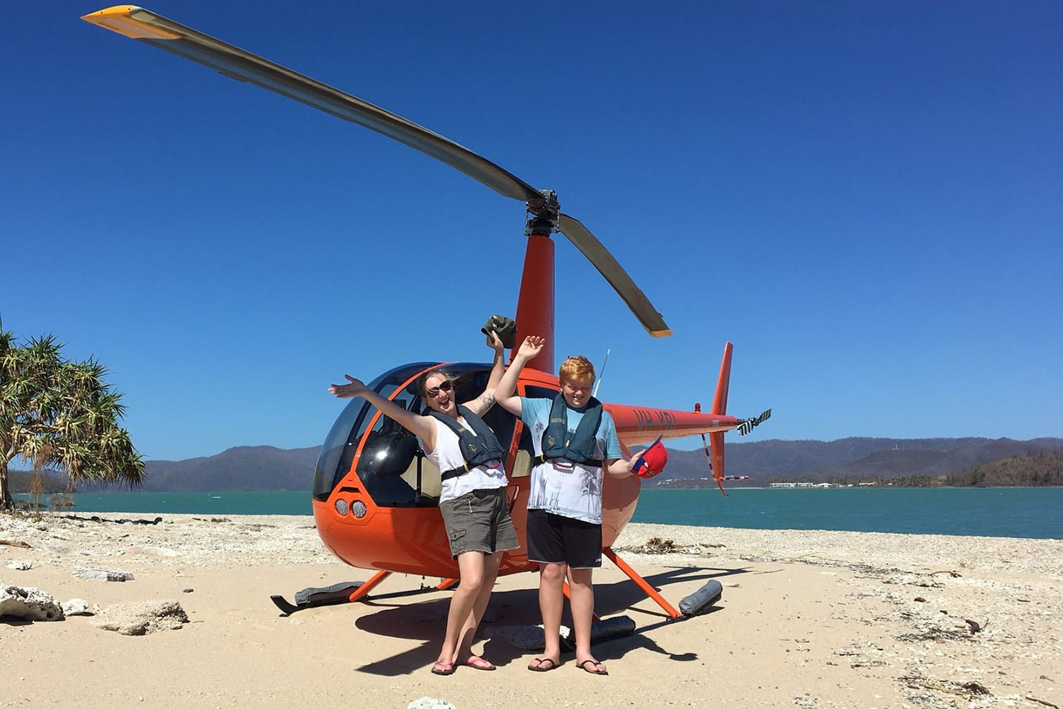 Helicopter Flight with Beach Stop For 2 - Whitsundays