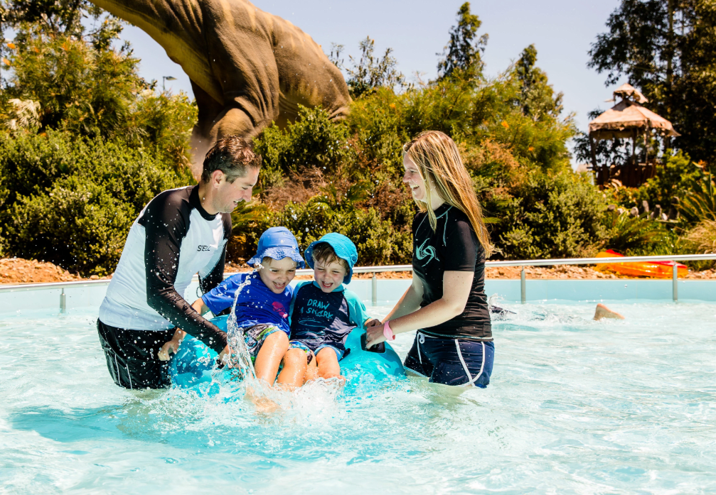 Raging Waters Sydney Family Getaway with Breakfast