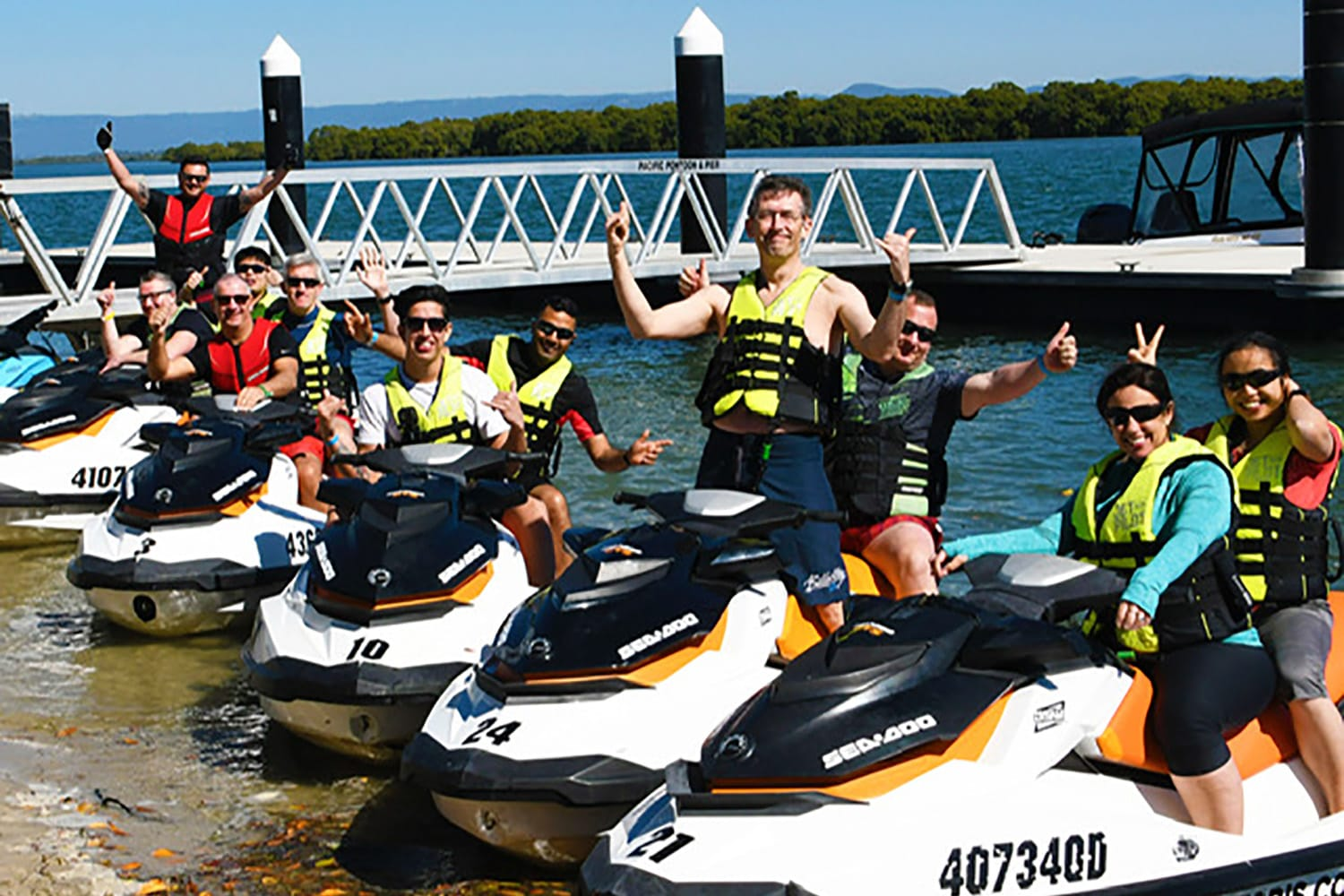 Jetski Tours on the Hawkesbury River 1.5 hours (Seats 2 People)