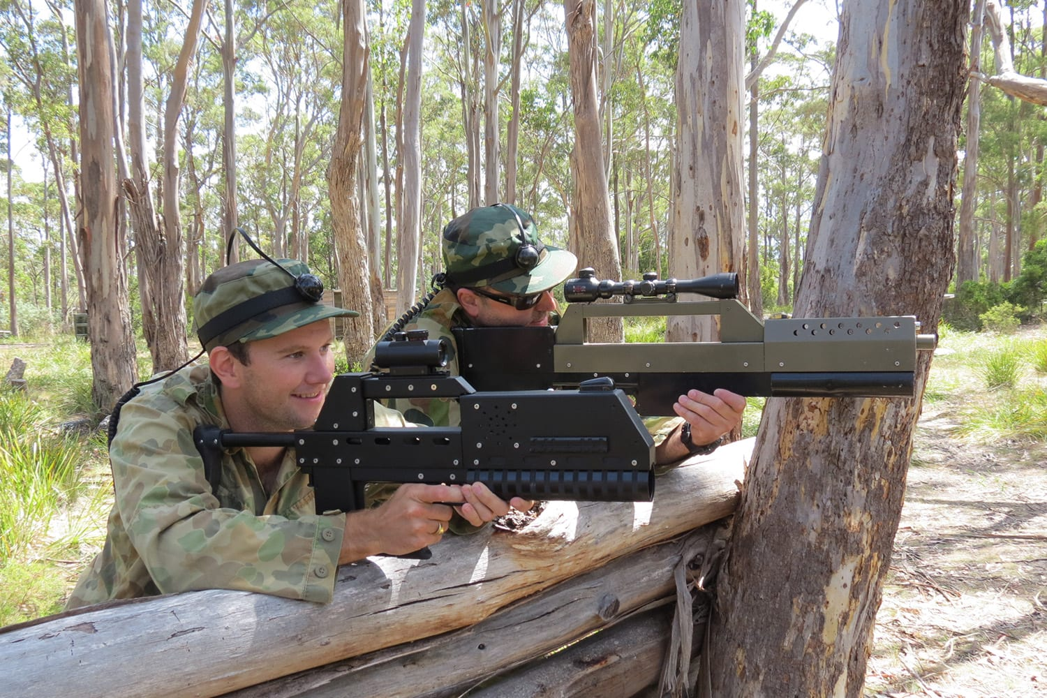 Private Laser Skirmish, 3.5 Hours - Hobart - For up to 12