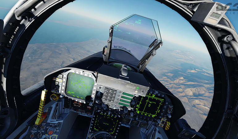 Virtual Reality F/A-18 Fighter Jet Experience - Melbourne