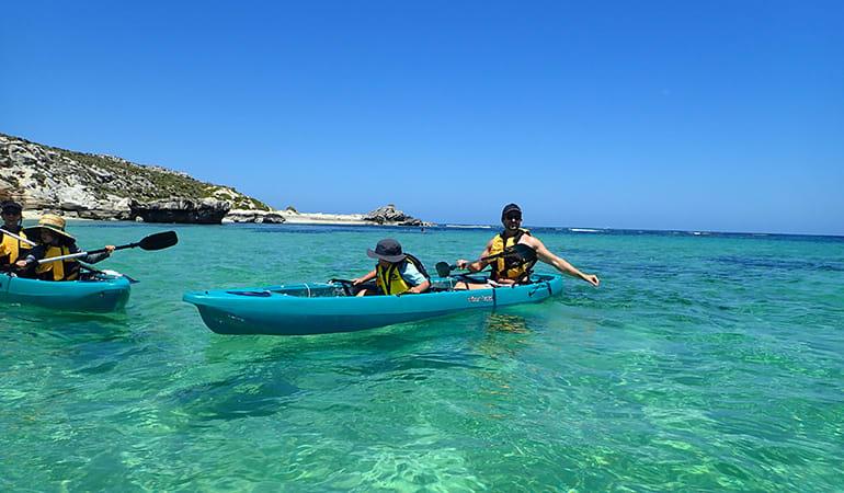 Guided Glass Bottom Kayak Tour - Rottnest Island
