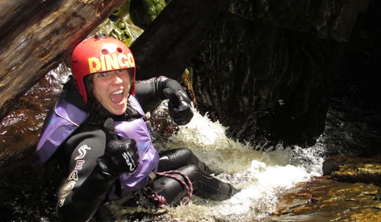 Canyoning Experience with Lunch, Full Day - Cradle Mountain