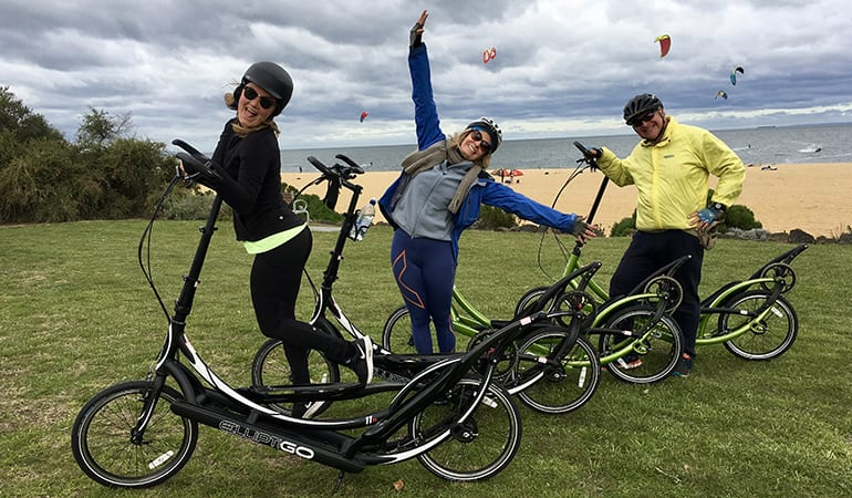 ElliptiGO Bike Scenic Bay Ride Tour, 90 Minutes - Melbourne