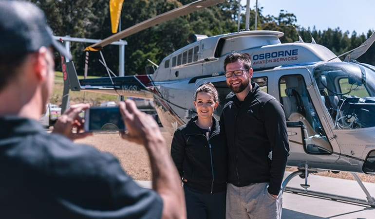 Scenic Helicopter Flight and Port Arthur Day Tour - Tasmania