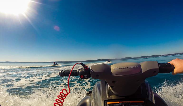 Jet Ski Tour, 90 minutes - Fraser Island and Moon Point