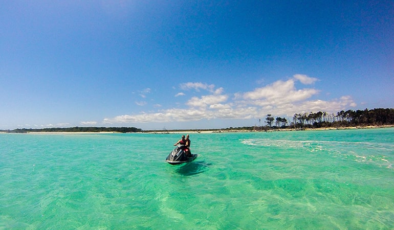 Guided Jetski Tour, 4 hours - Fraser Island