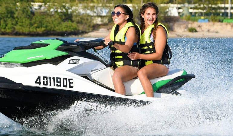 30 Minute Jet Ski Safari plus Parasailing For 2 - Gold Coast