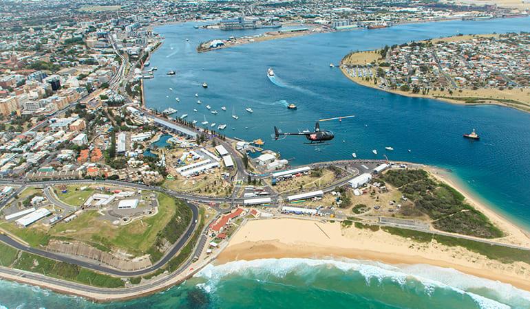 Coastal Helicopter Flight, 20 Minutes - Newcastle