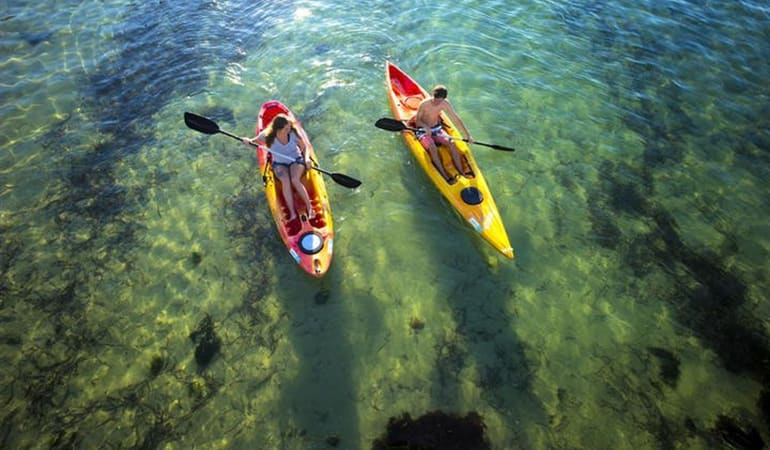 Single Kayak Hire, 2 Hours – Port Stephens
