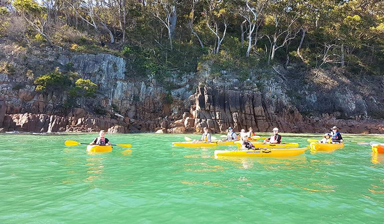 Double Kayak Hire, 1 Hour – Shoal Bay, Port Stephens
