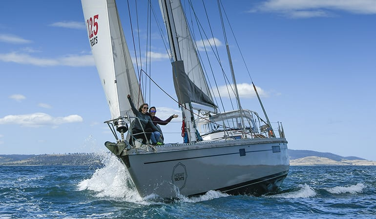 Sail on a Luxury Yacht, 3 Hours - The Derwent, Hobart