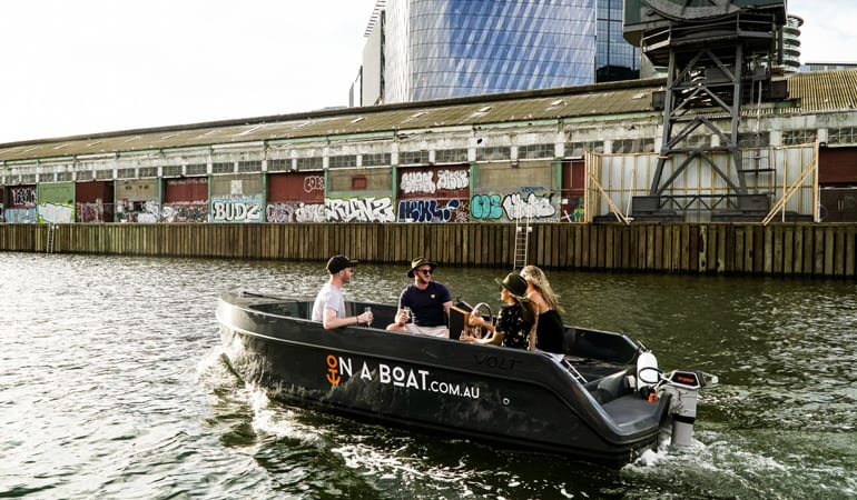 Skipper Your Own Boat, 2 Hours, For Up To 9 - Yarra River, Melbourne