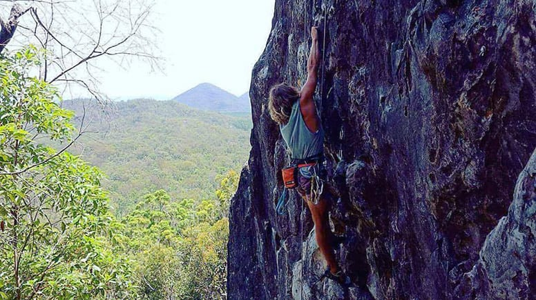 Saturday Rock Climbing Session - Mt Tinbeerwah, Noosa