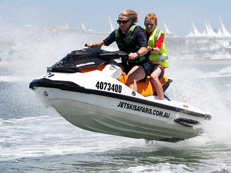 Tandem Parasail, Jet Boat and Jetski Safari Combo - For 2 - Gold Coast