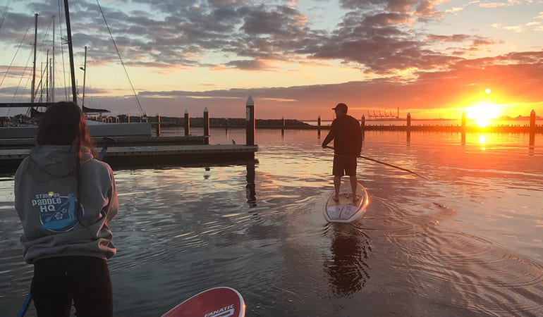 Family Stand Up Paddle Boarding Lesson – St Kilda, Melbourne