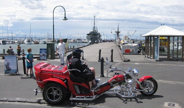 Trike Tour For 2, 2 Hours - West Gate and Williamstown, Melbourne