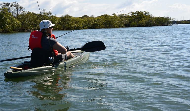 Guided Kayak Fishing Tour – Mooloolaba, Sunshine Coast