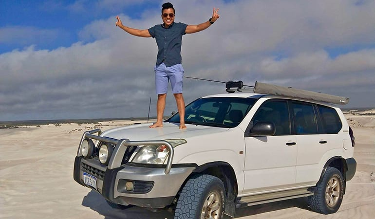 4WD Dune Adventure with Beach Fishing, Full Day - Pinnacles Desert