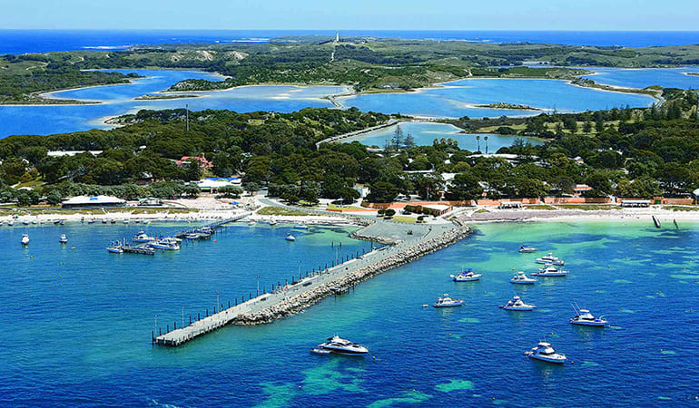 Rottnest Island Return Ferry Ticket, Extended Stay - Perth