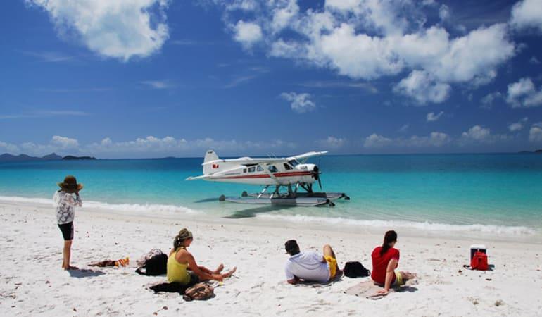 Seaplane Flight, Reef Snorkel and Visit Whitehaven Beach - Whitsundays