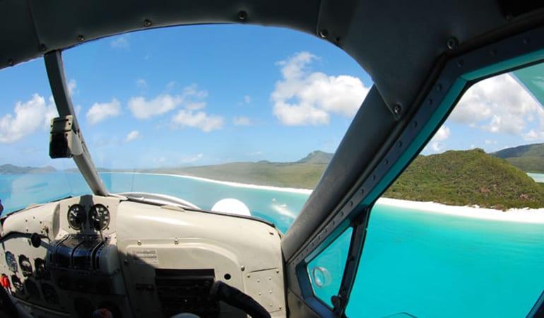 Seaplane Scenic Flight and Whitehaven Beach 1.5 Hour Visit - Whitsundays