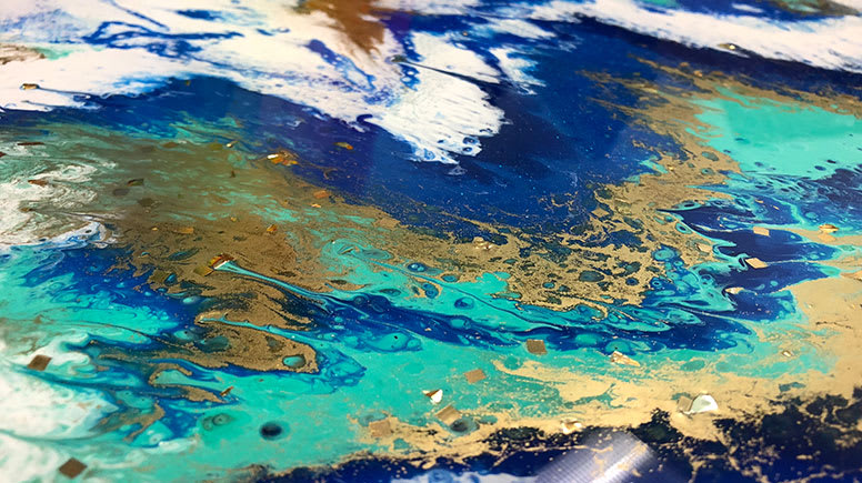 Resin Art and Sip Workshop, 3 Hours – Gold Coast