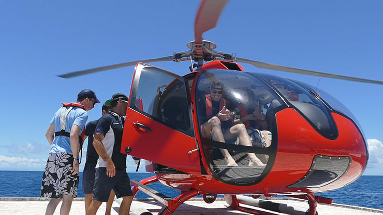 Great Barrier Reef Dive, Snorkelling and Helicopter Flight with Lunch - Cairns