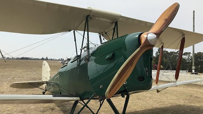 Sunrise Tiger Moth Scenic Flight, 15 Minutes - Hunter Valley