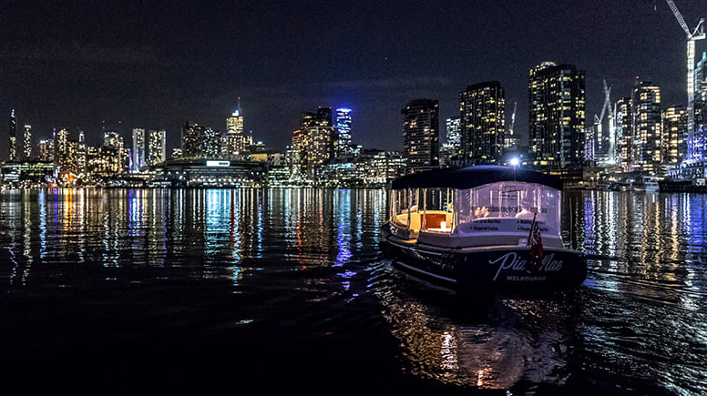 Private Dinner Cruise For 2 - Yarra River, Melbourne