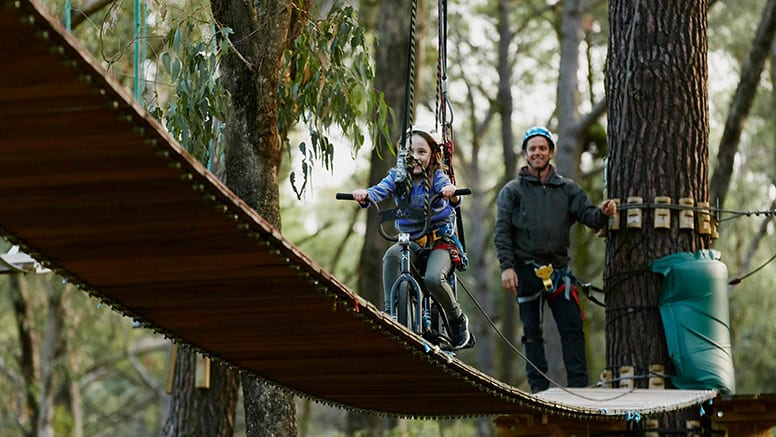 High Rope Adventure with Zip Lines - Busselton