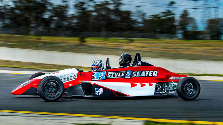 F1 Style 2-Seater Race Car, 4 Hot Laps - Wodonga, VIC