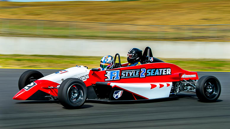 Drive F1 Style Race Car, 5 Laps, Plus 2 Hot Laps - Wodonga, VIC