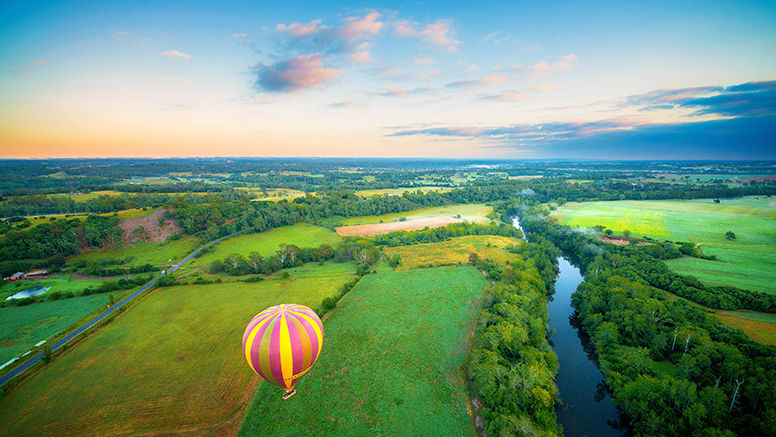 Hot Air Balloon and Champagne Breakfast - Sydney Macarthur Region