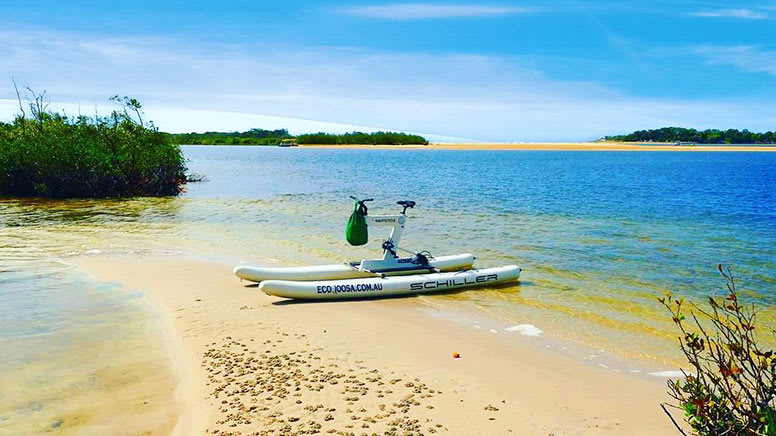 Water Bike Self-Guided Tour, 30 Minutes - Noosa