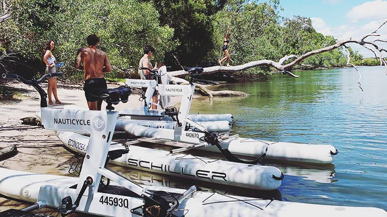 Water Bike Self-Guided Tour, 60 Minutes - Noosa