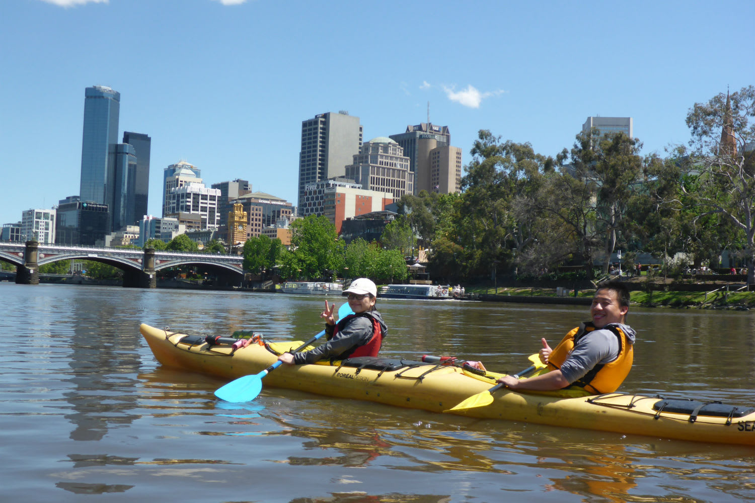 Self Guided Scenic Yarra River Kayak Tour - For 2