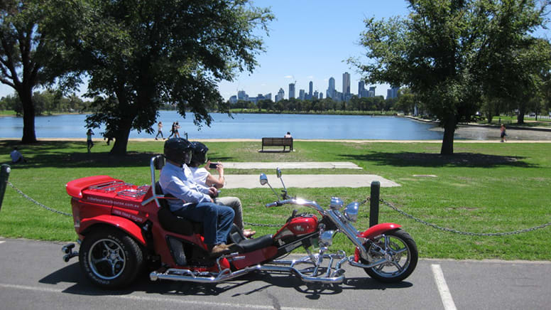 Trike Tour For 2, 2 Hours - Grand Prix to Brighton Beach, Melbourne