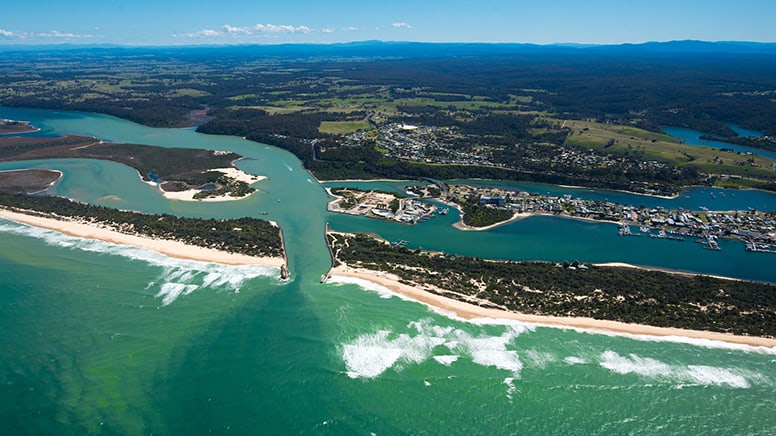 Scenic Helicopter Flight, 12 Minutes - Lakes Entrance, Gippsland - For 2