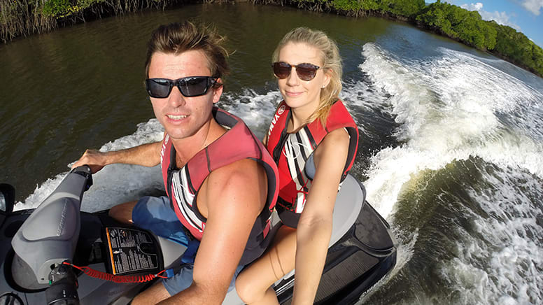 Crocodile Spotting Guided Jet Ski Tour, 1 Hour - Cairns