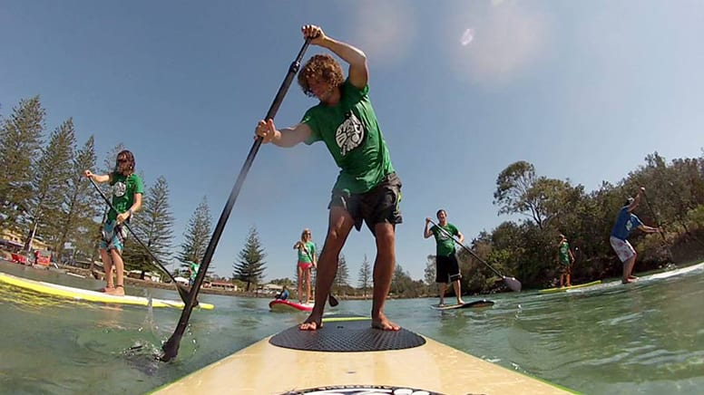 Stand Up Paddle Board Lesson and Tour - Byron Bay