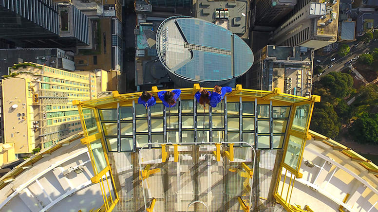 SKYWALK scenic tour, Adults at Kids Prices Until March 31 - Sydney Tower Eye