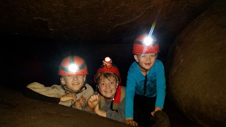 Cave and Forest Walk for Kids School Holidays - Warrandyte, VIC