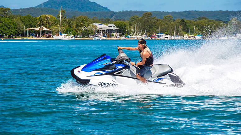 Jet Ski Tour, 1 Hour, For 1 or 2 People - Noosa