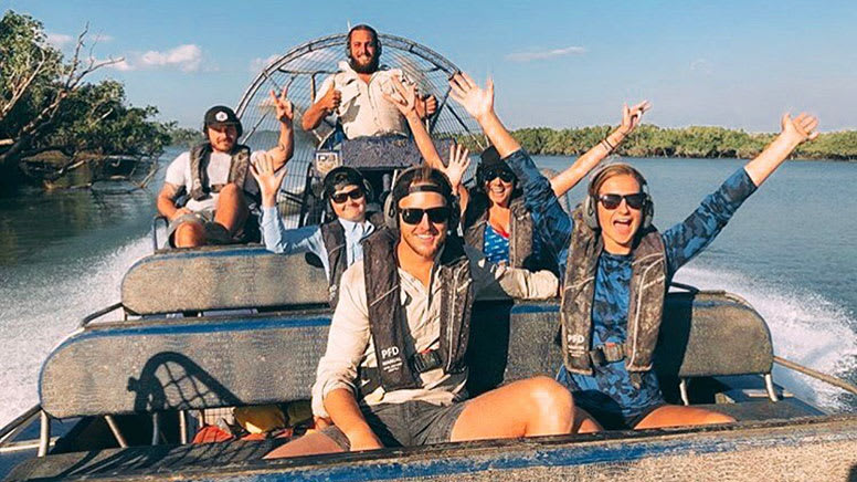 V8 Airboat Tour, 60 Minutes - Darwin