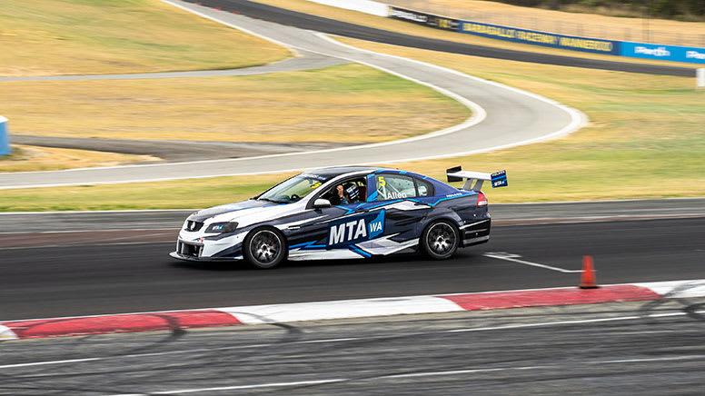V8 Sedan or Ute Drive and Ride 10 Lap Combo, For 2 - Barbagallo, Perth