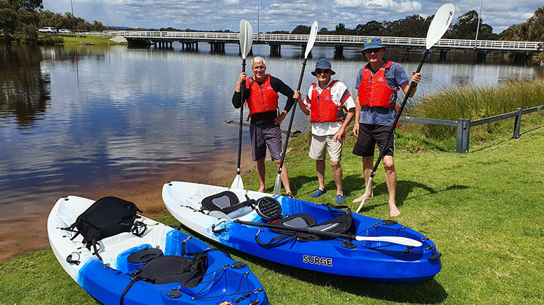 Kayaking Tour, 3 Hours - Canning River Wetlands, Perth
